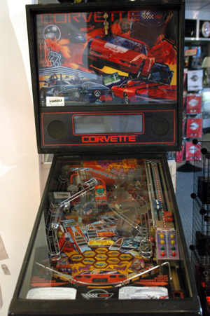 corvette pinball machine