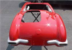 Corvette Go-Kart Body